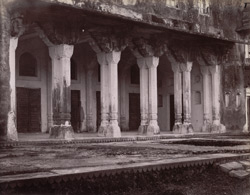 The Baradari or office in the Palace at Rohtasgarh.